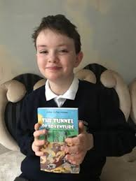Adventures in writing: 10-year-old Adam supports I CAN by publishing his  own book