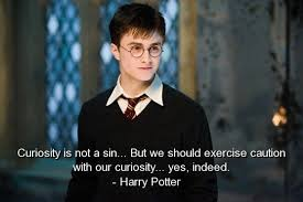 harry potter quotes sayings wise curiosity sin witty