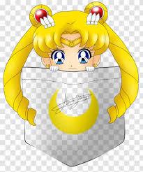 Wall Decal Bumper Sticker Sailor Moon Watercolor Transparent Png