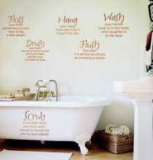 Mom S Bathroom Rules Decal Trading Phrases