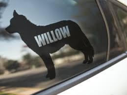 Husky Dog Decal Kai S Ruff Wear