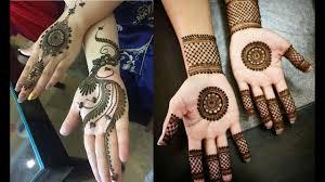 bridal circle mehndi design