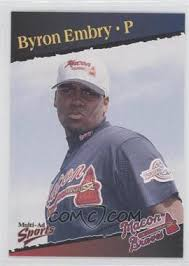 1998 Multi-Ad Sports Macon Braves - [Base] #4 - Byron Embry