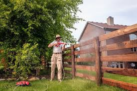 Pressure Washing Your Fence The Painting Company
