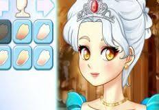 anime princess make up games