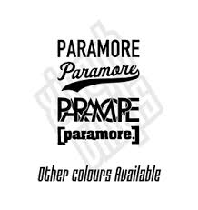 4 X Paramore Vinyl Sticker Decal Brand New Eyes Car Cd Hayley Williams Ipad Ebay