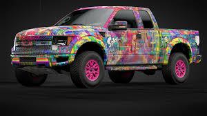 Splatoon Raptor Art Truck Car Livery By Xxnebsterxx Community Gran Turismo Sport