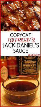 tgi friday s jack daniel s sauce recipe