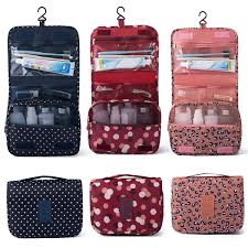 travel cosmetic storage makeup bag
