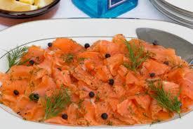swedish gin cured salmon