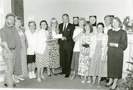Source - South Dublin Libraries' Digital Archive - jSWE 56 British  Ambassador Sir Nicholas Fenn presenting a cheque for £2,200 to Sister Imelda  Smith at the Tallaght Rehabilitation Project