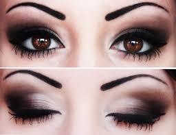 makeup for dark eyes cat eye makeup