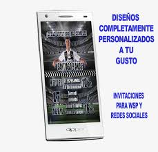 Tarjeta Invitacion Cumpleanos Digital Cr7 Whatsapp 120 00 En