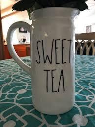Rae Dunn Inspired Sweet Tea Vinyl Decal Etsy