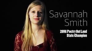 Savannah Smith - Montana Poetry Out Loud State Champion ...