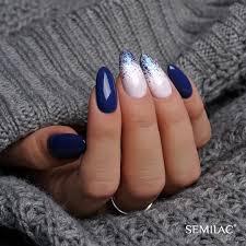 Semilac Instagram Lists Feedolist Niebieskie Paznokcie Ladne