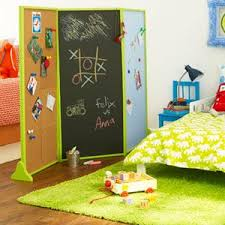 Make Room For Two Creative Ways To Share A Bedroom Kid Room Decor Kids Chalkboard Diy Room Divider