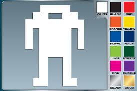 Killer Robot From Berserk Cut Vinyl Decal Classic Atari Etsy