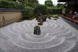 wonderful quiet zen rock garden