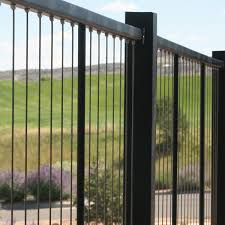 Vertical Cable Railing Systems Vertical Wire Railings For Decks