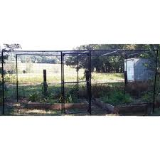 7 5 H Poly Garden Fence Kit Fully Enclosed 15 X 15 Deerbusters Com