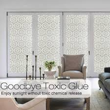Wxshsh Privacy Window Film Decorative Paper Sticker Non Adhesive Lace Flower Decal Home Office Static Cling Glass Foil Wid 90 Cm Decorative Films Aliexpress