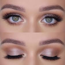 prom makeup light pink shadow for the