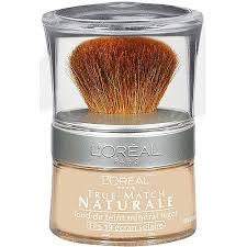 l oreal paris bare naturale powdered