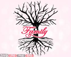 family tree love svg word art quote clip art wall hearts roots