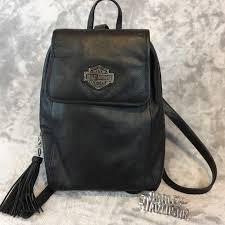 all leather harley davidson backpack