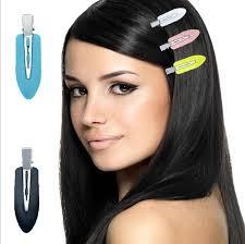 bend no crease mark hair clips