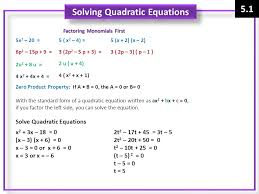 notes quadratic functions