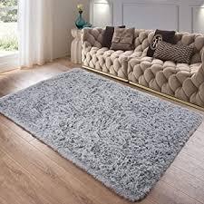 Amazon Com Foxmas Ultra Soft Fluffy Area Rugs For Bedroom Kids Room Plush Shaggy Nursery Rug Furry Throw Carpets For Boys Girls College Dorm Fuzzy Rugs Living Room Home Decorate Rug 4ft X