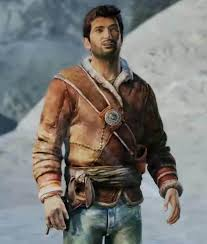 Nathan Drake Uncharted Brown Leather ...