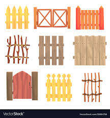 garden wooden fences and gates
