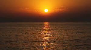 غروب الشمس في البحر اجمل صور لغروب الشمس صور حزينه