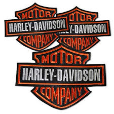 harley davidson embroidered pu patches