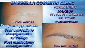 semi permanent make up eyebrows hair
