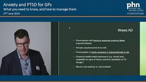 Anxiety Disorders and PTSD in Primary Care Dr Adrian Keller - YouTube