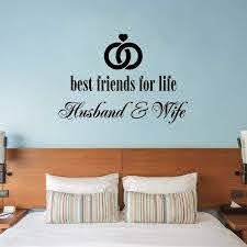 Latitude Run Best Friends For Life Husband And Wife Wall Decal Wayfair