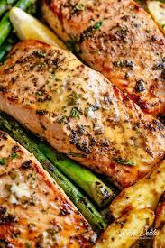 Garlic Butter Baked Salmon - Cafe Delites