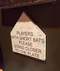 baseball signs funny bathroom signs