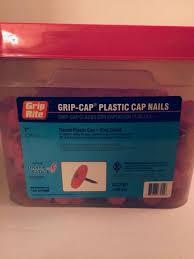 grip rite 1 plastic cap nails