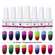 8ml changing gel color chameleon nail
