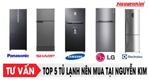 Top 5 tủ lạnh đang Hot tại Nguyễn Kim - YouTube