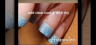 black nail polish nails manicure