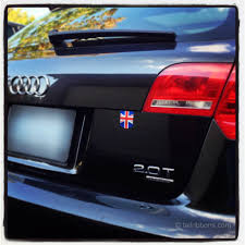 Flag Of The United Kingdom Car Sticker Tailribbons