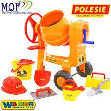 Bộ đồ chơi dụng cụ xây dựng số 7 và máy trộn xi măng
