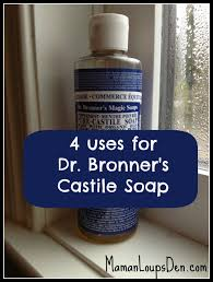 recipes with dr bronner s castile soap