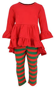 Super HOT SALE for Unique Baby Girls Christmas Ruffle Winter ...